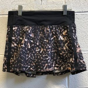 Lululemon black and brown skirt, sz 2, 61833